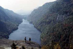 Adirondacks Lower Ausable Lake from Indian Head